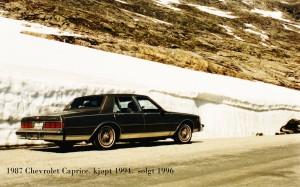 Caprice -87 -1